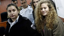 17-jährige Palästinenserin muss in Haft