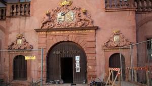 Einbrecher verursacht 100.000-Euro-Schaden in Schlossmuseum