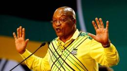 Südafrikas Präsident Zuma soll abtreten