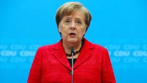 Merkel will Nationalhymne nicht ändern