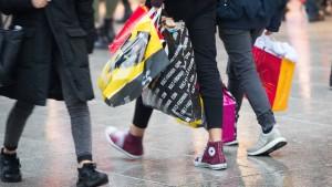 Deutsche Einzelhändler verdienen wieder weniger