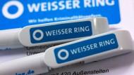 """Der Verein """"Weißer Ring"""" unterstützt Opfer von Kriminalität und ihre Familien."""