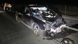 Zwei Ersthelfer sterben bei Autobahnunfall