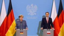 Merkel für einheitliches Europa