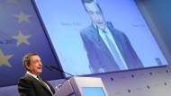EZB-Präsident Mario Draghi in Frankfurt am Main