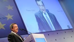 EZB kauft immer mehr Anleihen südeuropäischer Staaten