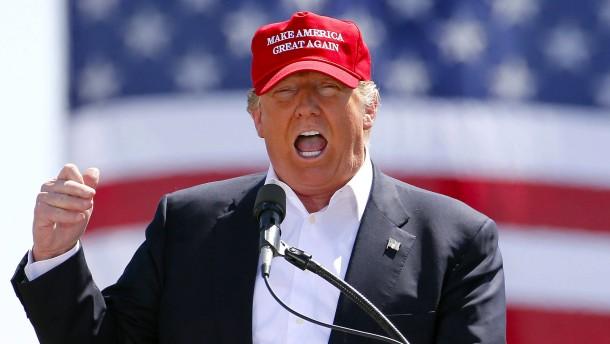 Donald Trump ist der Kandidat des Mobs