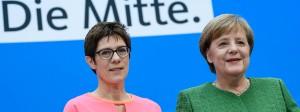 Annegret Kramp-Karrenbauers Nominierung kommt gut an.