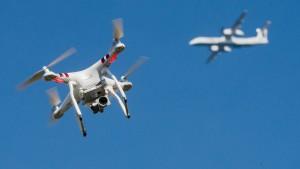 Flughafen-Chaos wegen Drohne
