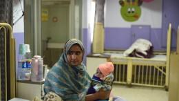 Höchste Neugeborenensterblichkeit in Pakistan