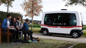 Stockholm setzt fahrerlosen Bus ein