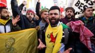 Kurden-Protest in Köln