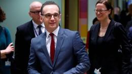 Maas kritisiert Ablauf der Wahlen