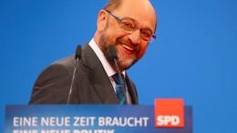 """Schulz ruft zu einem """"Ja"""" zu Koalitionsverhandlungen auf"""