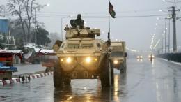Angriff auf Militärakademie in afghanischer Hauptstadt