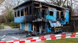 Begegnungsstätte durch Brand zerstört