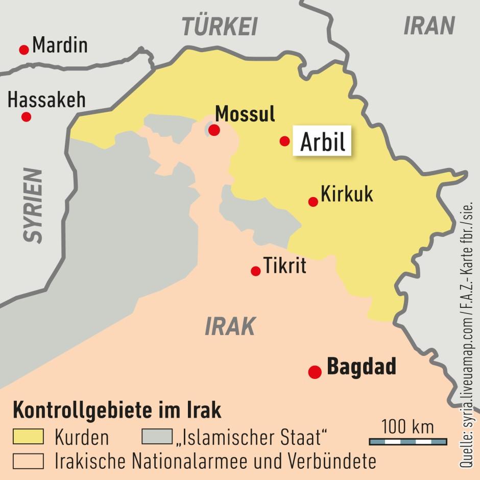 """Die Programmierschule """"Re:Coded"""" befindet sich in der Stadt Arbil im Nordirak."""