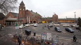 Gießener Bahnhof nach Päckchen-Fund gesperrt