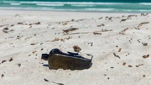 Deutsche Flaschenpost nach 132 Jahren entdeckt
