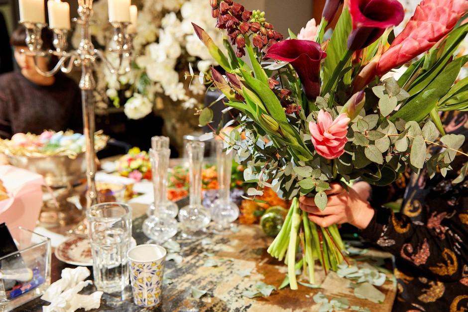Floraldesigner wie Marsano stillen die Sehnsucht nach Natur.