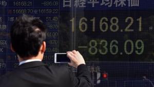 Börse in Tokio bricht um mehr als fünf Prozent ein