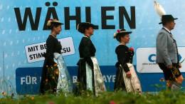 Bayern wählt am 14. Oktober