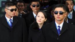 Kim Jong-un feiert, seine Schwester reist