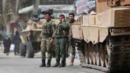 Afrin unter türkischer Kontrolle