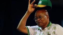 ANC fordert Präsident Zuma offiziell zum Rücktritt auf