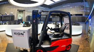 Kion steigt bei chinesischem Hersteller ein