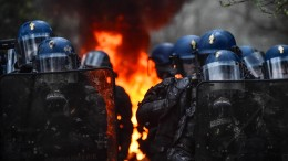 Französische Polizei räumt Camp