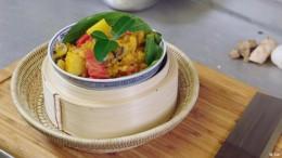 Exotische Küche aus Kambodscha