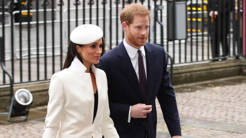 Gemeinsame Ankunft: Prinz Harry und Meghan werden am 19. Mai in Windsor westlich von London heiraten