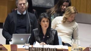 Kritik an Vereinigten Staaten für Iran-Sitzung