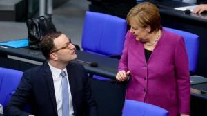 Merkel macht Spahn offenbar zum Gesundheitsminister