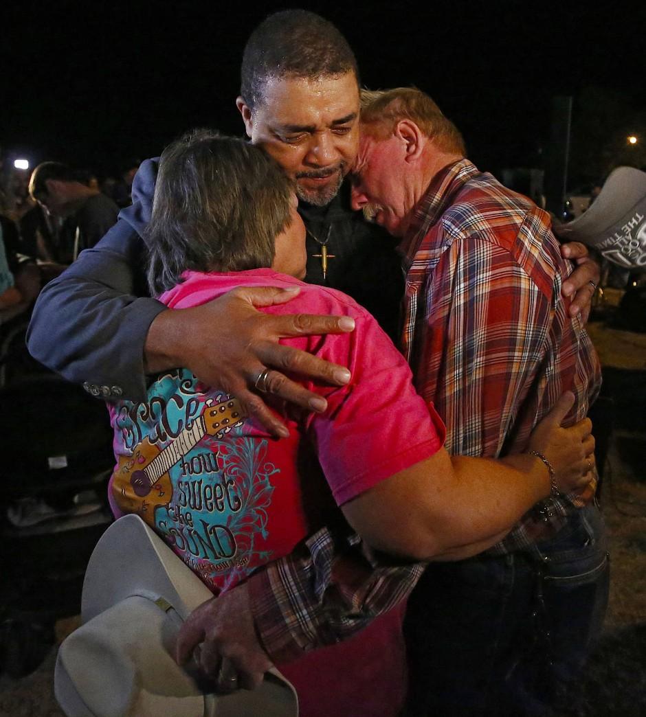 Kollektive Trauer im texanischen Sutherland Springs