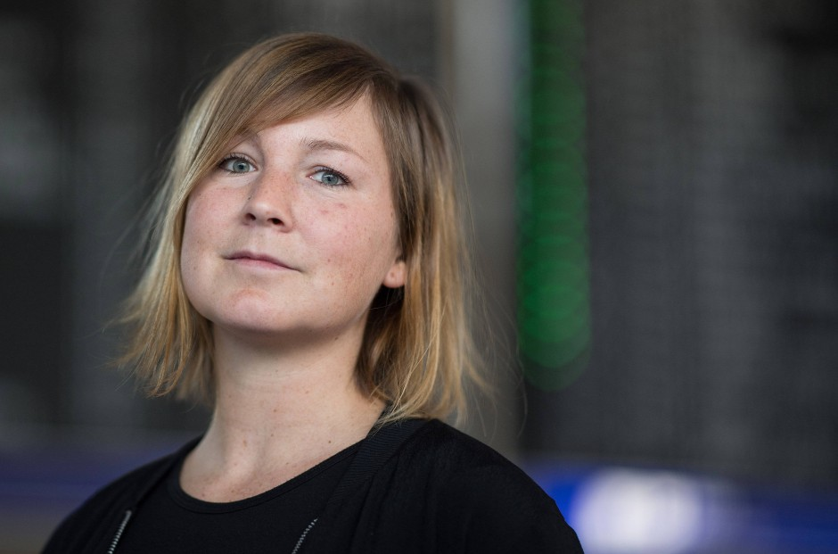 Sozialarbeiterin Kristina Wessel
