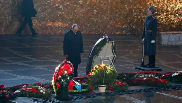 Russland erinnert an Ende der Schlacht um Stalingrad