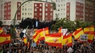 """Eine Demonstration im Mai 2011 in Madrid, nachdem die Partei """"Bildu"""" vom Verfassungsgericht wieder zugelassen wurde"""