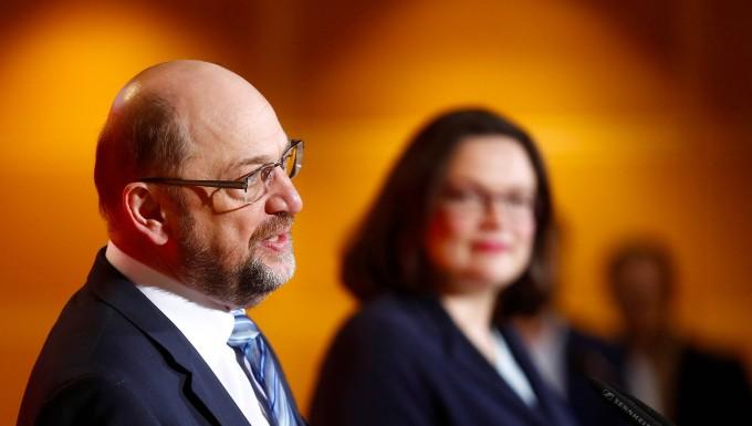 Nahles für Schulz: SPD prüft sofortigen Wechsel im Vorsitz