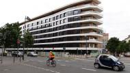 Energieproduzent: Das Aktivhaus am Frankfurter Westhafen