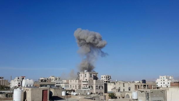Saudi-Arabien hat Ziele im Jemen bombardiert
