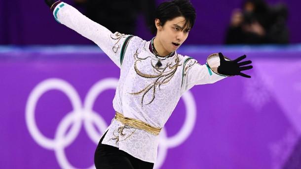 Hanyu wiederholt Olympiasieg