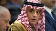 Der saudische Außenminister Adel al-Dschubair