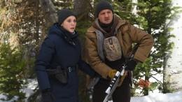 Zwei Avengers im Schnee