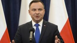 Polens Präsident unterzeichnet umstrittenes Holocaust-Gesetz