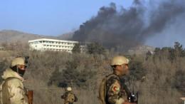 Angriff auf Luxushotel in Kabul