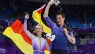Paarlauf-Olympiasiegerin Aljona Savchenko