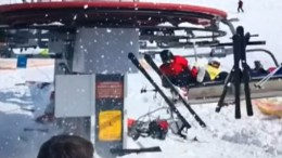 Skilift gerät außer Kontrolle