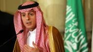 Der saudi-arabische Außenminister Adel al Jubeir im Juli in Kairo